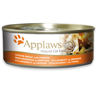 APPLAWS Cat Chicken Breast with Pumpkin 70GR