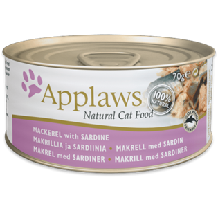 APPLAWS Cat Mackerel with Sardine 70GR