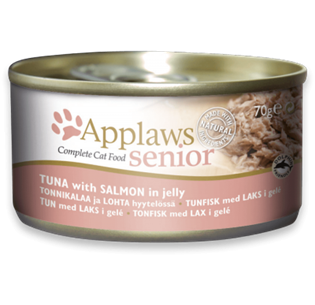 APPLAWS Cat Senior Tin Tuna with Salmon in Jelly 70GR