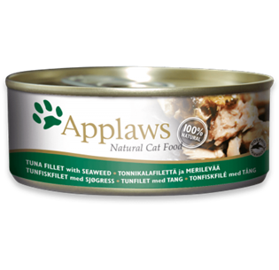 Applaws Cat Tuna Fillet with Seaweed 70GR